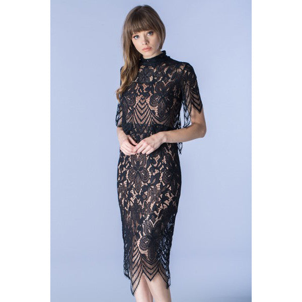 Over Lace Dress