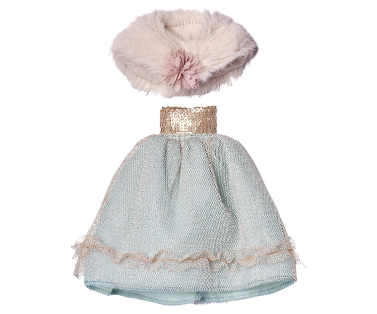 Mini Princess Dress Mint