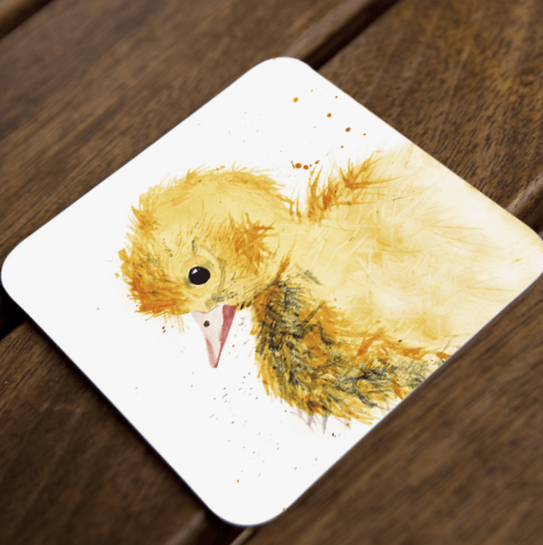 Inky Duckling Coaster Set of 4