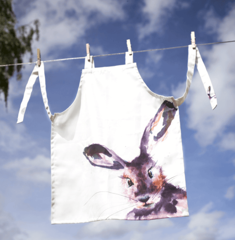 Inky Hare Adult Apron