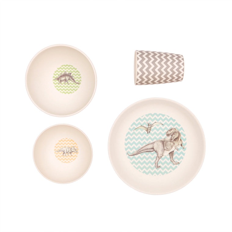 Bamboo 4pc Set Trex Supper