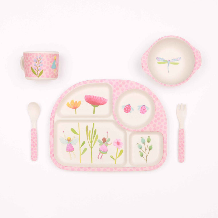 Bamboo 5pc Set Fairy Garden