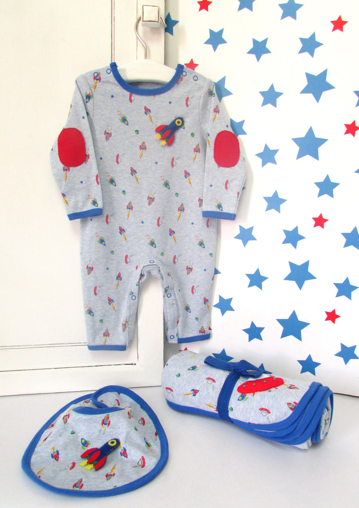 Gift for baby, babygrow for baby boy.