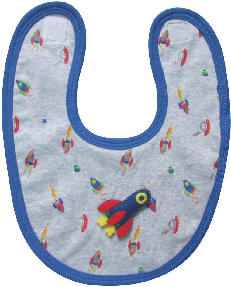 Gift for baby, baby bib for baby boy.
