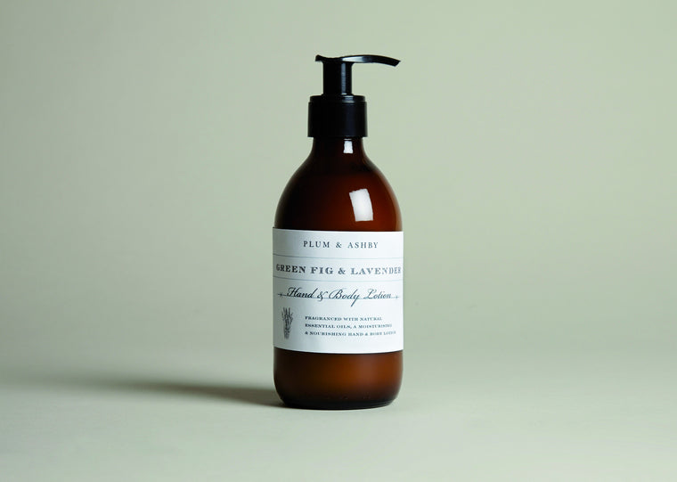 Green Fig and Lavender Hand and Body Lotion