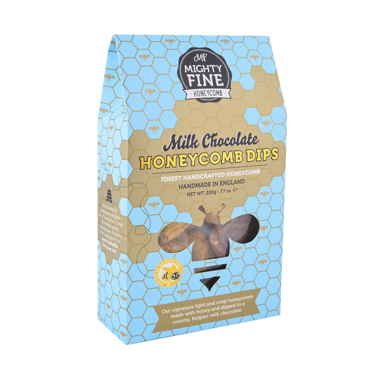 Mighty Fine Milk Chocolate Honeycomb Gift Box