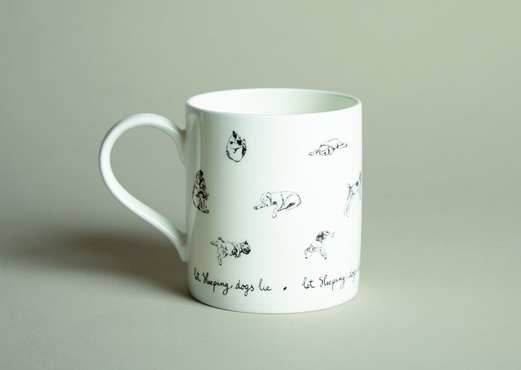 Let Sleeping Dogs Lie Mug