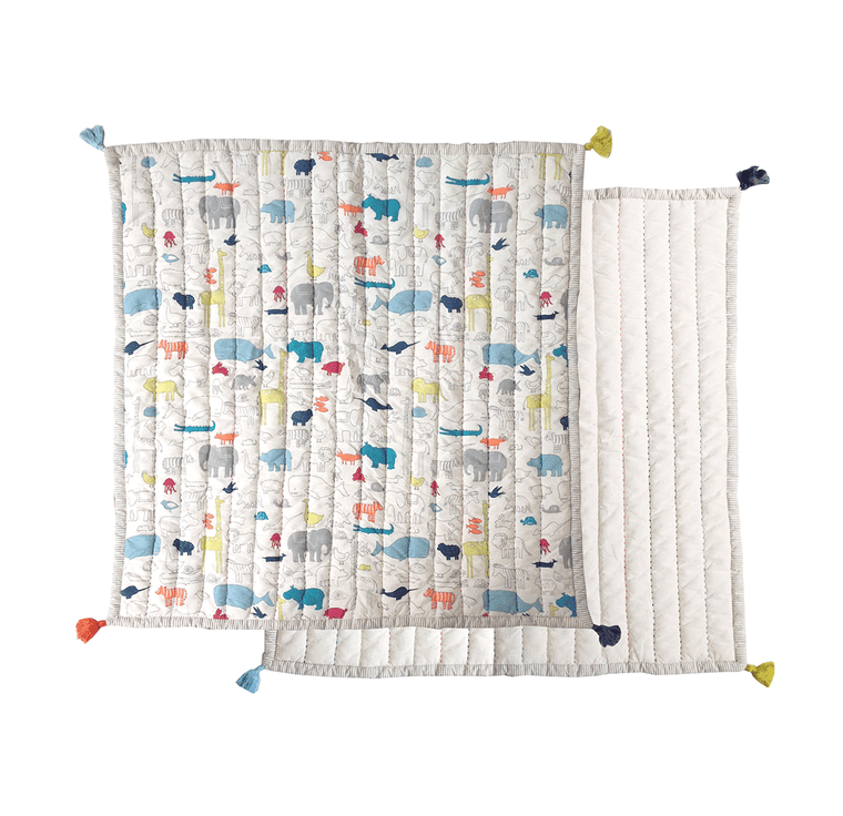 Noahs Ark Play Blanket