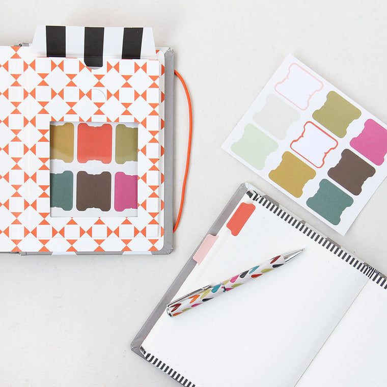 Gift for her, Caroline Gardner Hearts Notebook Organiser