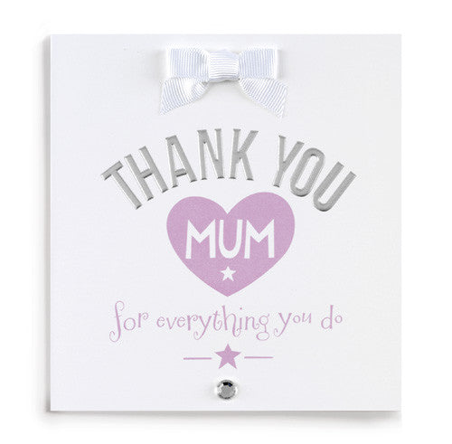 Thank You Mum Card