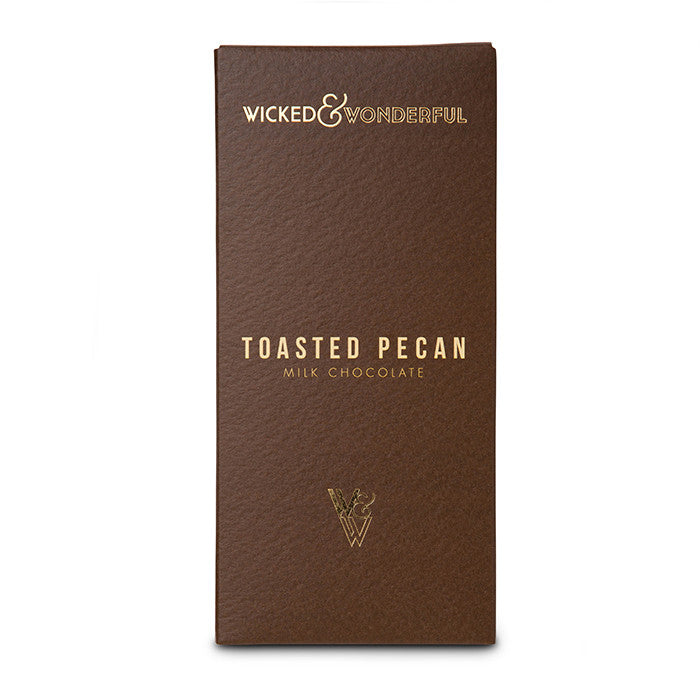 Toasted Pecan Milk Chocolate Bar