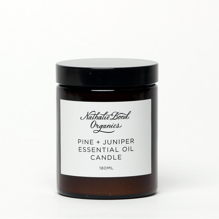 Candle - Pine and Juniper 180ml