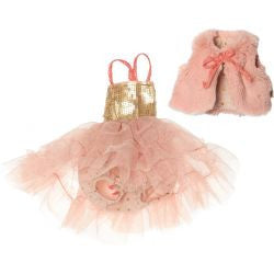 Best Friends Fur West and Ballerina Dress Rose