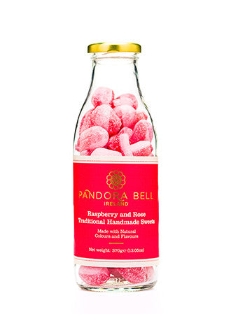 Pandora Bell Traditional Sweets Raspberry & Rose, 370g