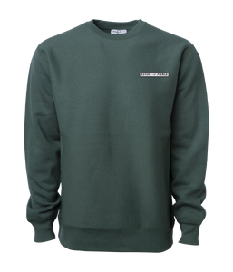 Aston Pierce Patch Logo Crewneck -> Pine Green