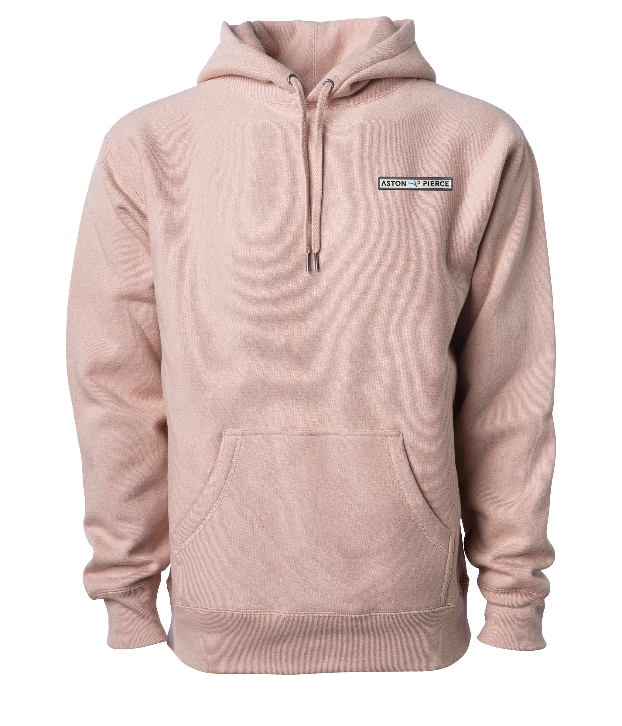 Aston Pierce Patch Logo Hoodie