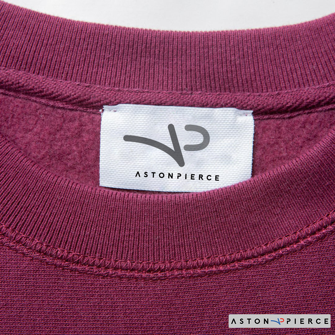 Aston Pierce Patch Logo Crewneck - Aston Pierce