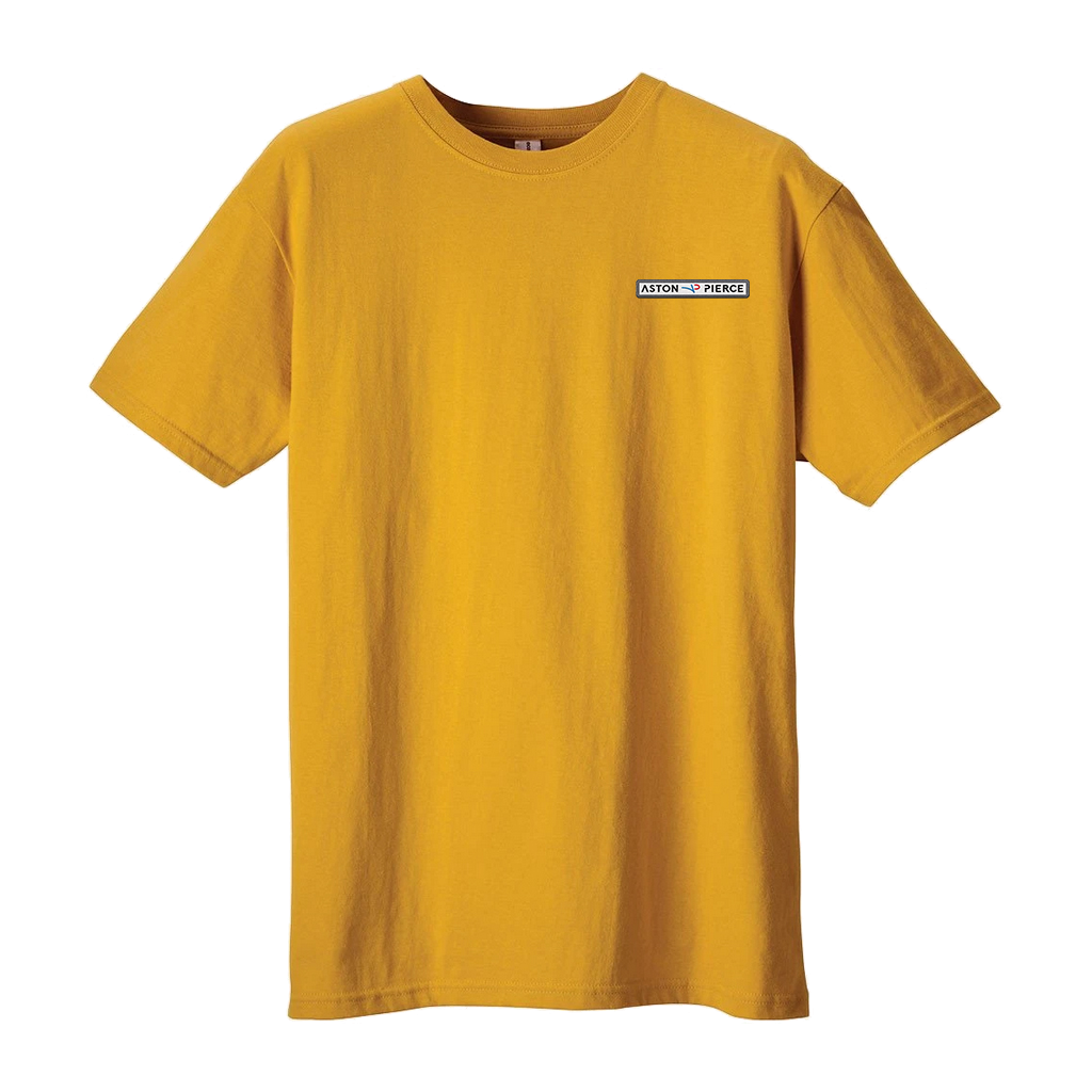 Aston Pierce Patch Logo Slim T-Shirt