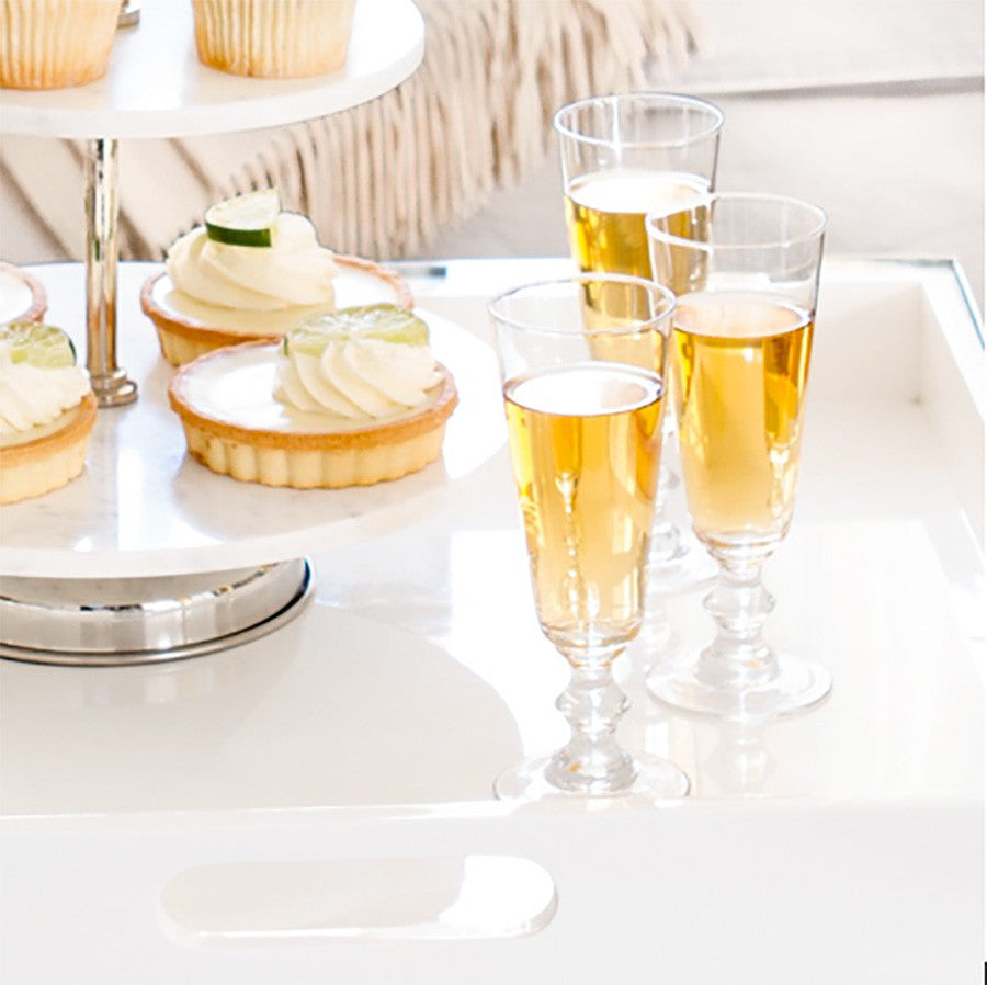 Lafayette Clear Champagne Flutes