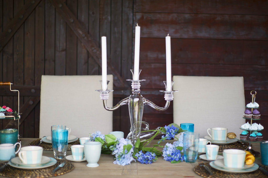 How to Decorate a Table - CouleurNature