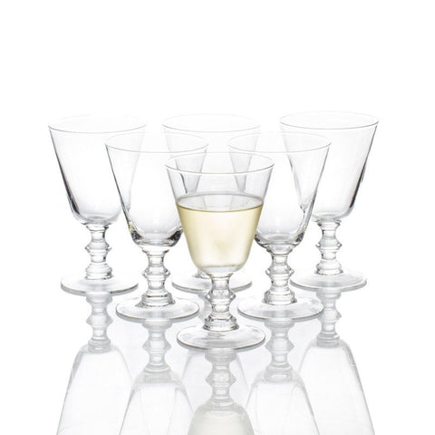 Set of 6 Lafayette Wine Glasses