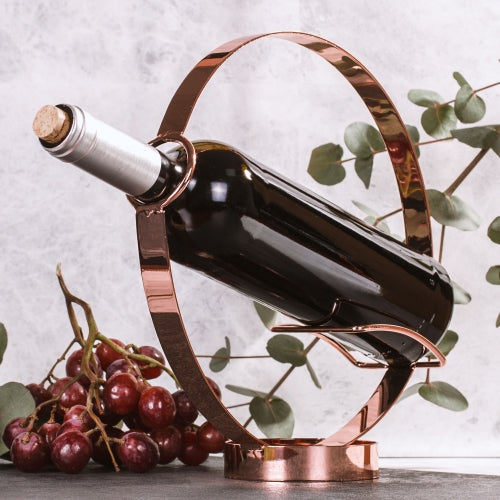 wine bottle holder and pourer