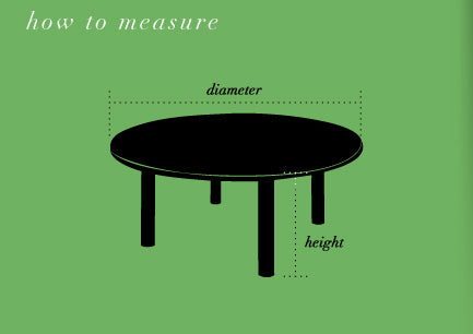 How To Measure Round Table.What Size Tablecloth Or Table Runner Do I Need Couleurnature