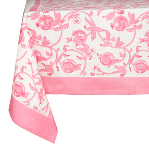 French Tablecloth Granada Jaipur Pink