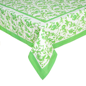 French Tablecloth Granada Parrot Green