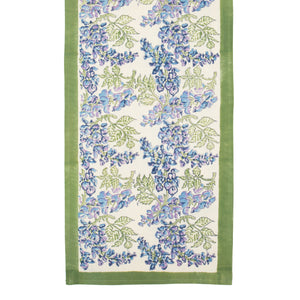 Wisteria Green & Blue Runner