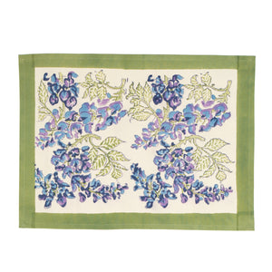 Wisteria Green & Blue Mats, Set of 6