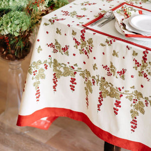 French Tablecloth Gooseberry