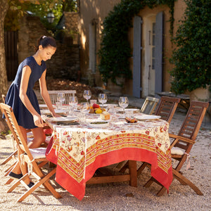 French Tablecloth Fleur des Indes