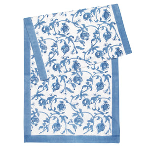 Granada Runner Cornflower Blue