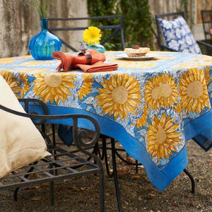 french_tablecloth_sunflower_yellow_blue_1