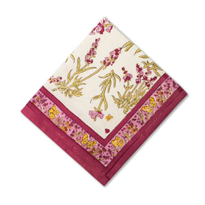 Papillon Napkins Rose, Set of 6