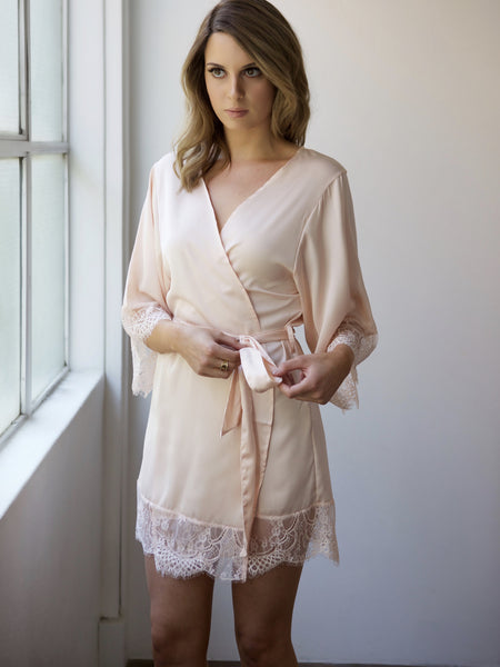 Risky Business Robe - Pink