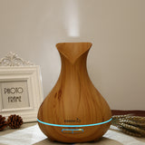Wood Grain Vase Diffuser w/Remote