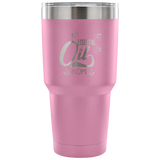 Essential Oil Mom Laser Etched Tumbler (Premium)