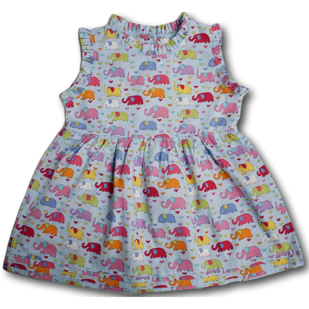 Elephant Dress - A Little Kiddie
