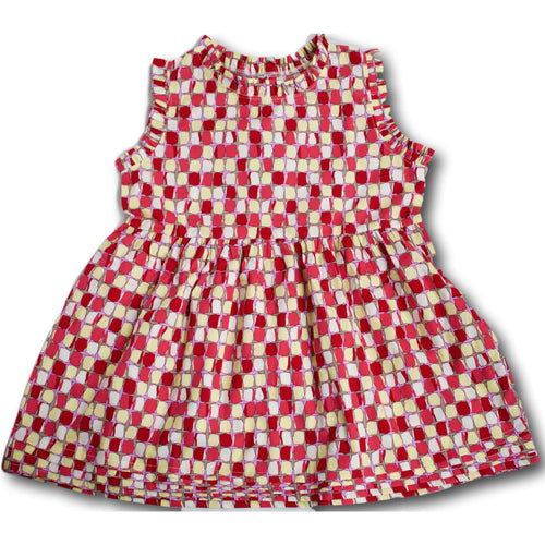 Blocks Dress - A Little Kiddie