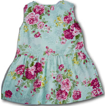 Green Rosie Dress - A Little Kiddie