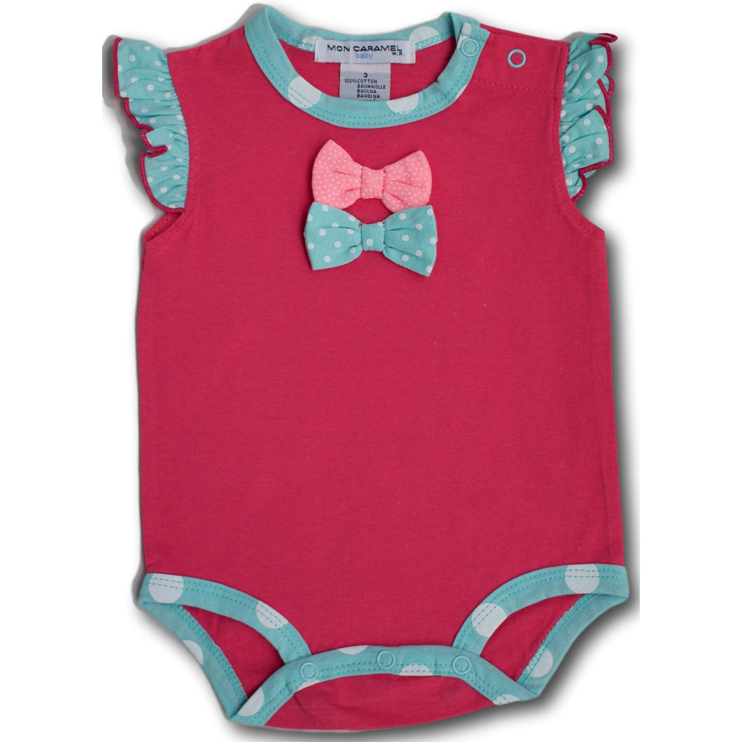 Bow Tie Bodysuit - A Little Kiddie