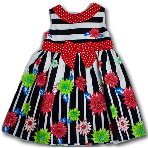 Colourful Daisy Dress - A Little Kiddie