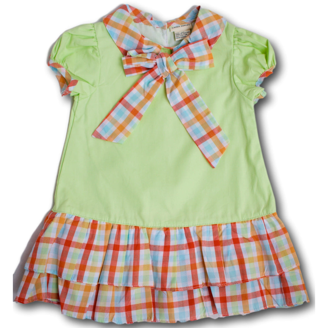 Checks Dress - A Little Kiddie