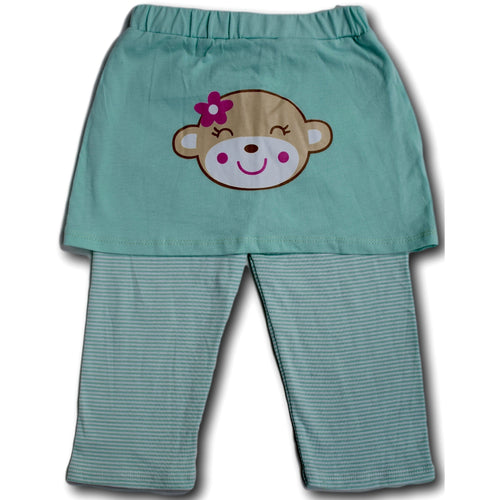 Monkey Skirt Pants - A Little Kiddie