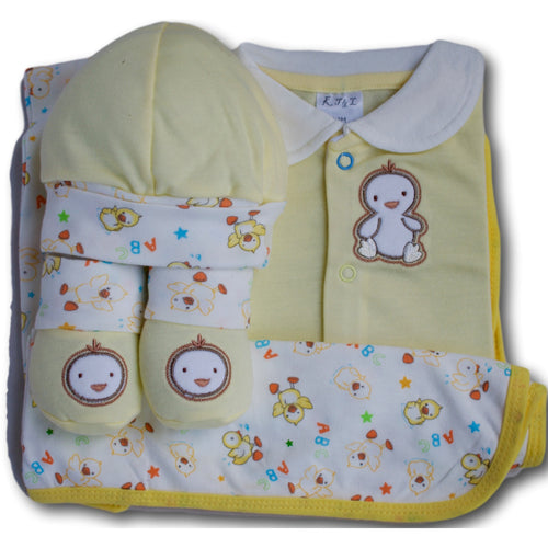 Birdies 4 Piece Baby Set - A Little Kiddie