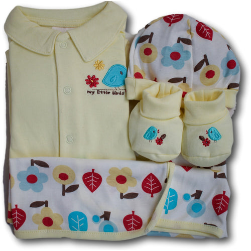 My Little Bird 4 Piece Baby Set - A Little Kiddie