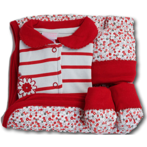 Sakura 4 Piece Baby Set - A Little Kiddie