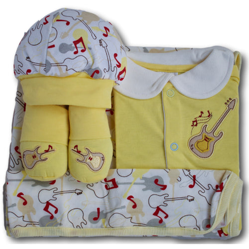 Rhythm 4 Piece Baby Gift Set - A Little Kiddie